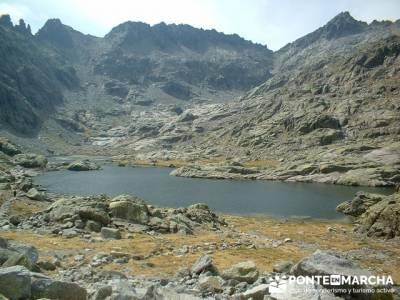 Laguna Grande de Gredos - Refugio Elola; charca verde pedriza; foro senderismo